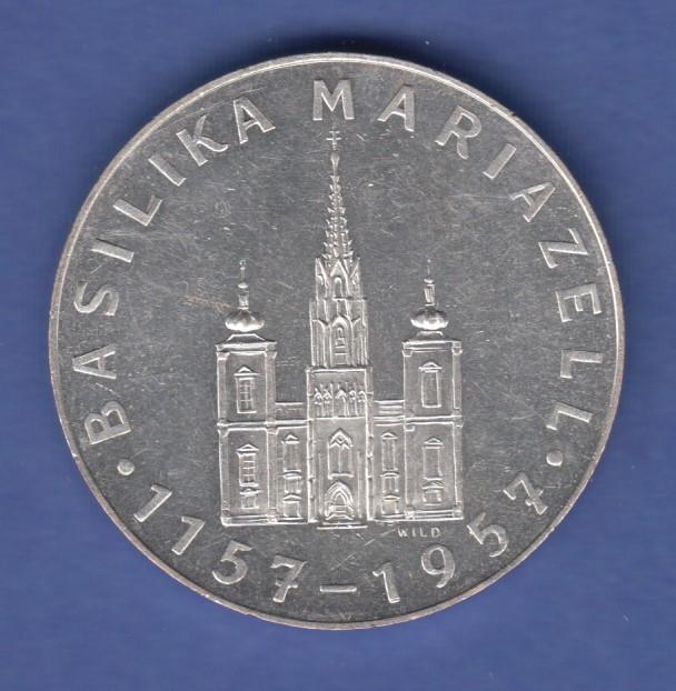 österreich Gedenk Medaille 1955 Magna Mater Austriae Basilika