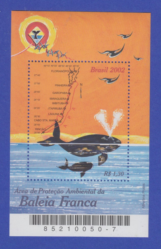 Brasilien 2002 Block 119 ** Naturschutz Caatinga-region Brasil Rhm Bloco B-126 Briefmarken