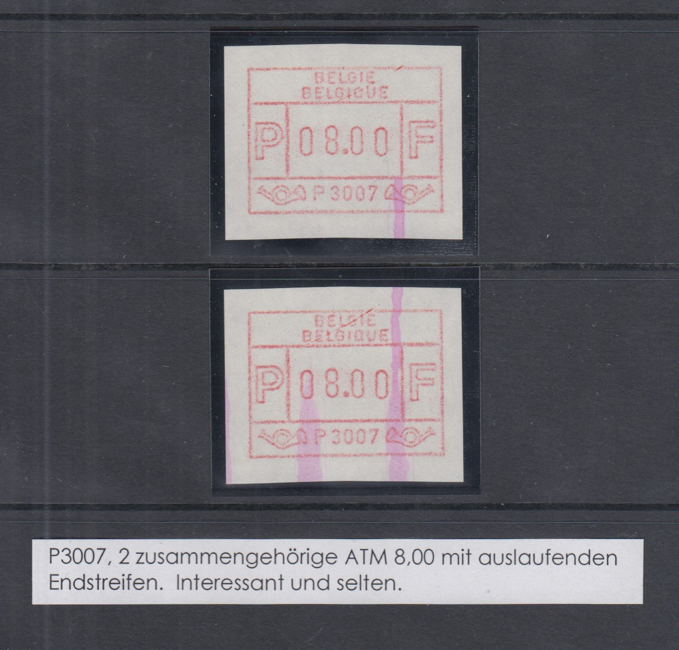 14 Verschiedene Werte ** Postfrisch Automatenmarken 1989 Niederlande