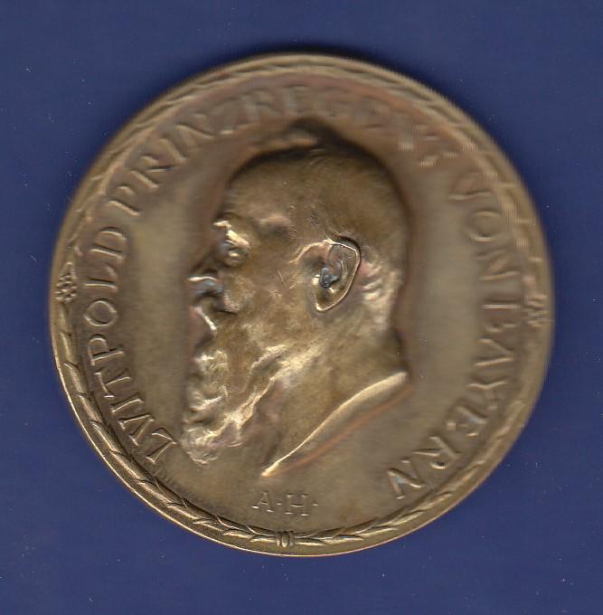 Große Bronze Medaille 100 Jahre Königlich Bayerische Münze 1809 1909