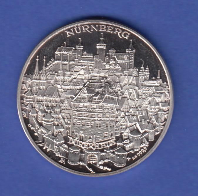 Silbermedaille 500 Jahre Albrecht Dürer 1471 1971 Ag999 148g