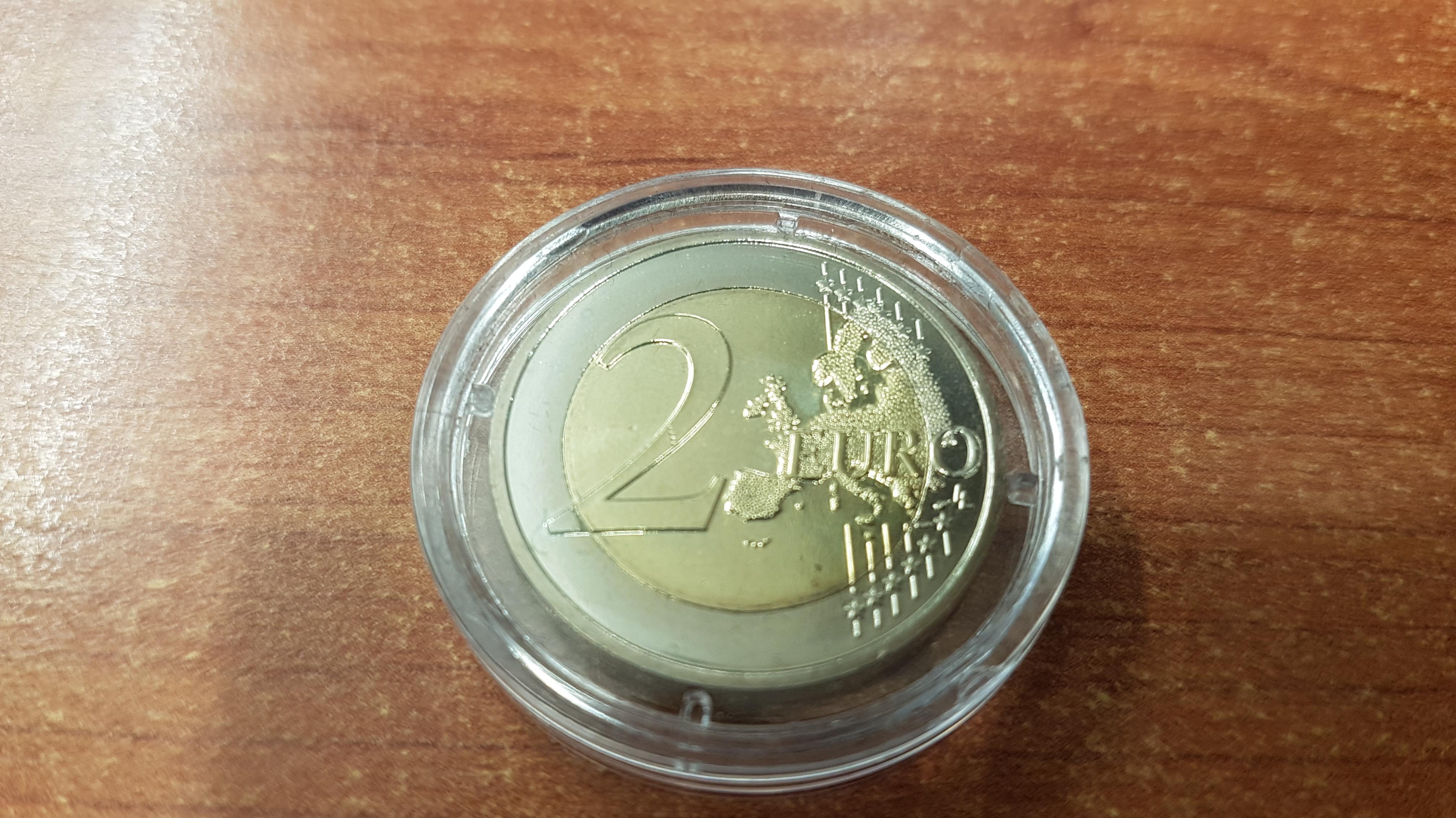 Monaco Top Rarität 2 Euro Münze Grace Kelly 2007 Im Original Etui