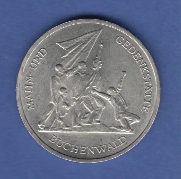 Ddr 10 Mark Gedenkmünze 1972 Kz Gedenkstätte Buchenwald