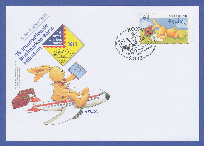 Briefe Von London Nach Deutschland : Ganzsache hase felix mit sonderstempel nur erhältlich auf