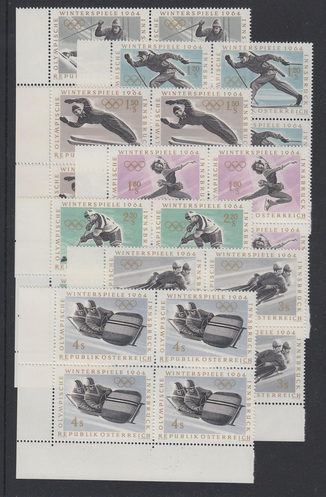 Österreich Österreich Jahrgang 1971 Michel Nr 1353-1380 Postfrisch Österreich Ab 1945