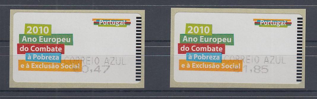 Postfrisch 2000 D kompl.ausg. Andorra-französische Post 552-553 Dreierstreifen