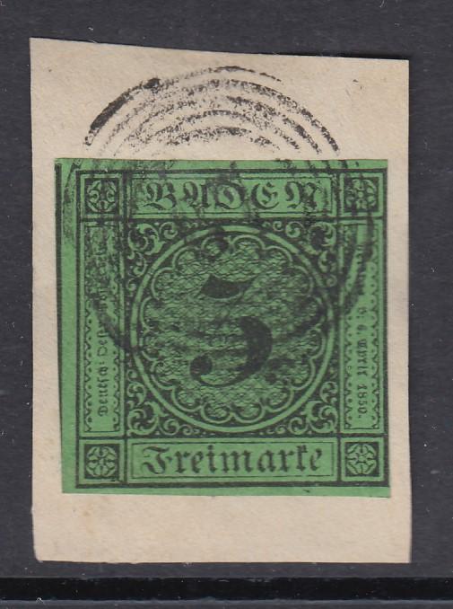 1 Kreuzer 1852 Von Baden, Erhaltung Siehe Scan Münzen Altdeutschland Bis 1871