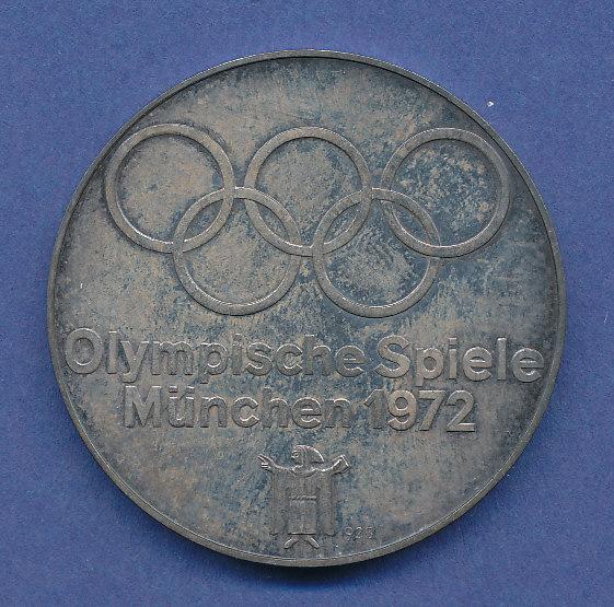 Silber Medaille Olympische Spiele München 1972 Bogenschütze 25g